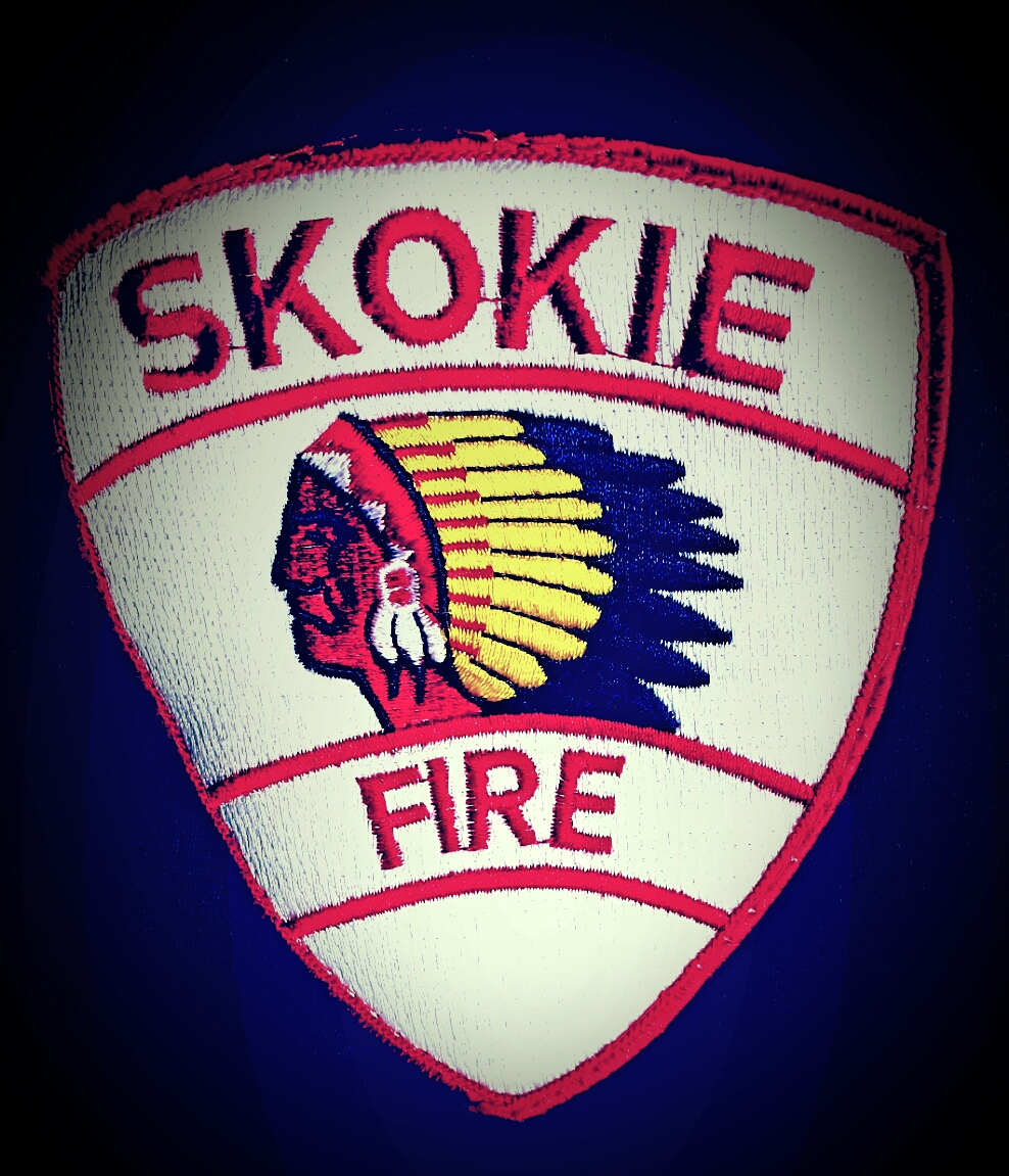 Skokie Fire Deparment logo patch