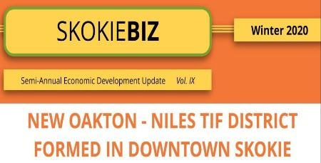 Skokie Biz Masthead winter 2020