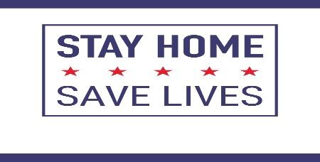 Stay home save lives poster (JPG)
