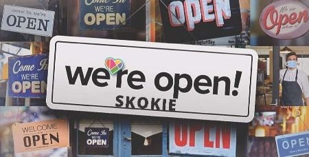 We're Open SKOKIE (JPG)